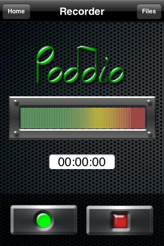Poddio Record Screen