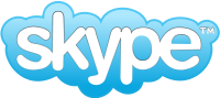 Skype Logo 200 pixels