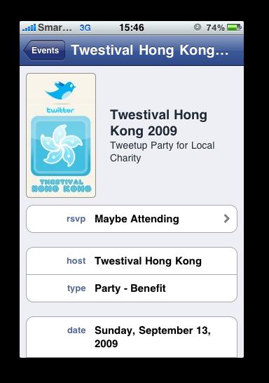 Facebook - Event