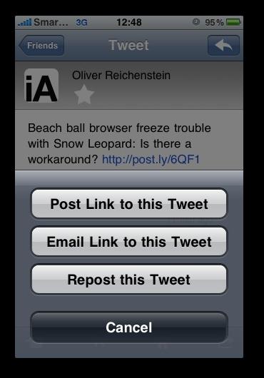 SimplyTweet -  Redirect-tweet