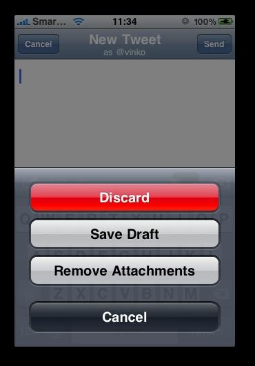 SimplyTweet -  Tweet-remove-photo