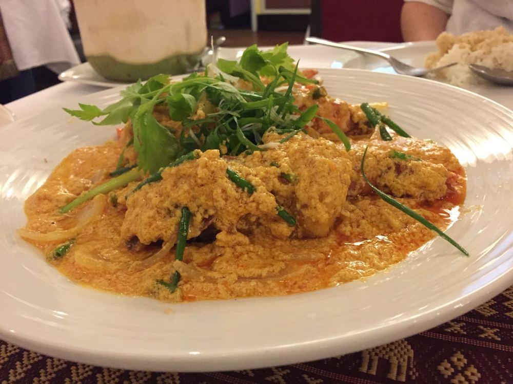 Curry King Prawns