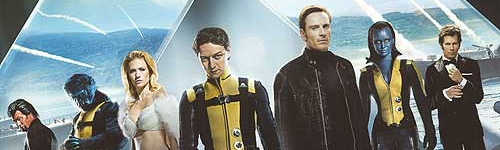 X-Men: First Class 500x150